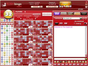 Posh Bingo Lobby