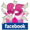Facebook - 5 free at Gina Bingo