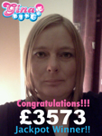 Thrilled Gina Bingo player scoops £3573