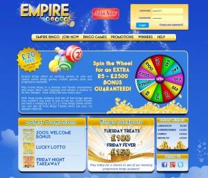 Empire Bingo